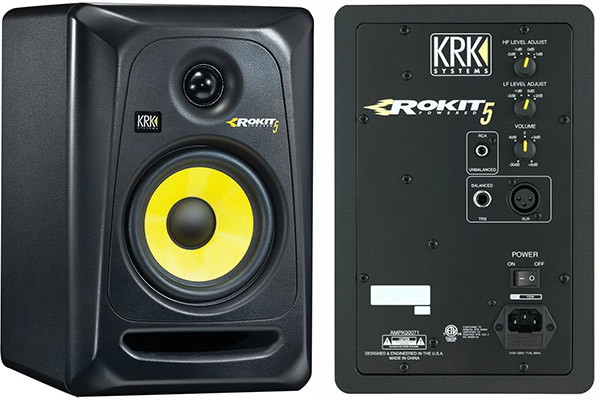 KRK-RP5G3-NA-Rokit-5-back-and-front