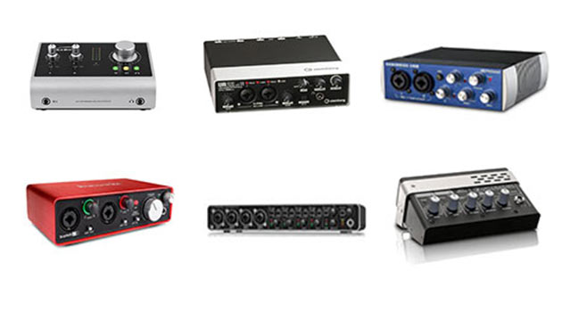 6 of the Best Audio Interfaces - Home Recording Pro