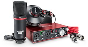 focusrite scarlett 2i2 bundle